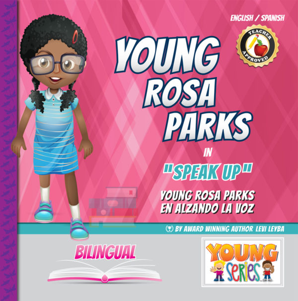 Young Rosa Parks in Speak Up
